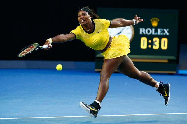 Serena Williams... (Photo Thomas Peter, Reuters)