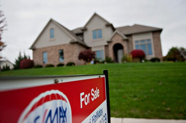 Le prix moyen des logements vendus en janvier... (PHOTO DANIEL ACKER, ARCHIVES BLOOMBERG)