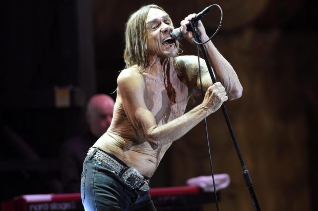 Iggy Pop en spectacle à Los Angeles en... (PHOTO ARCHIVES AP)