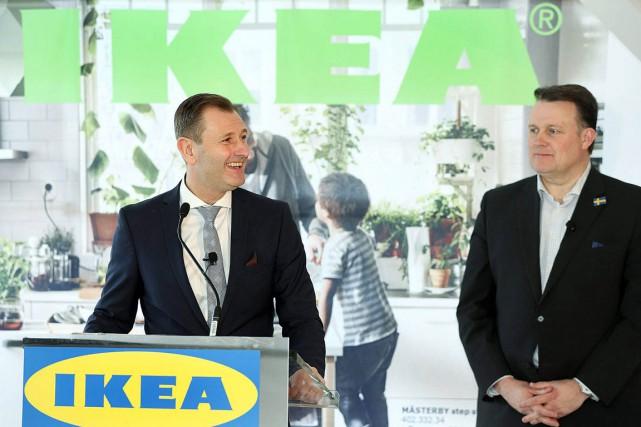 Ce nouveau magasin marque le retour d'Ikea dans... (PHOTO LA PRESSE CANADIENNE)