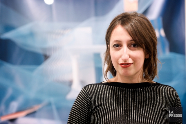Âgée de 32 ans, Celia Perrin Sidarous est... (PHOTO BERNARD BRAULT, LA PRESSE)