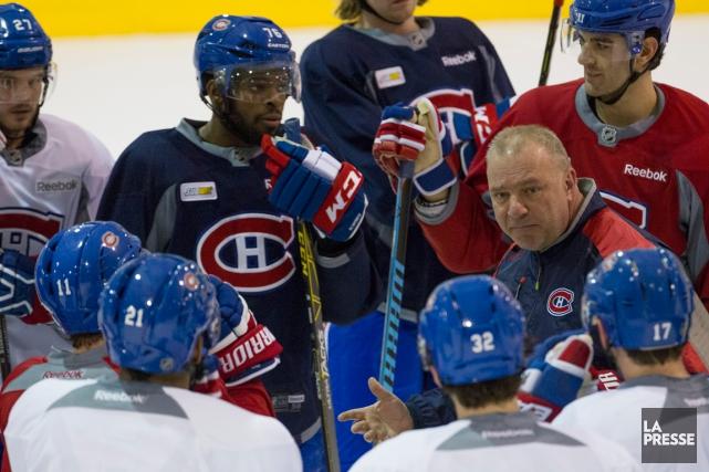 Michel Therrien croit que ses joueurs doivent améliorer... (Photo Ivanoh Demers, La Presse)
