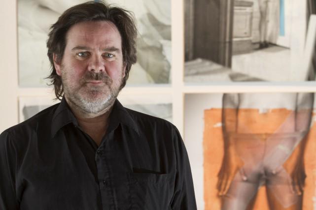 Cofondateur du collectif Mouvement Art Mobile, l'artiste sherbrookois... (Spectre Média, René Marquis)