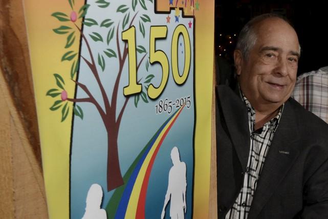 Le président du comité des fêtes du 150e... (Sylvain Mayer)