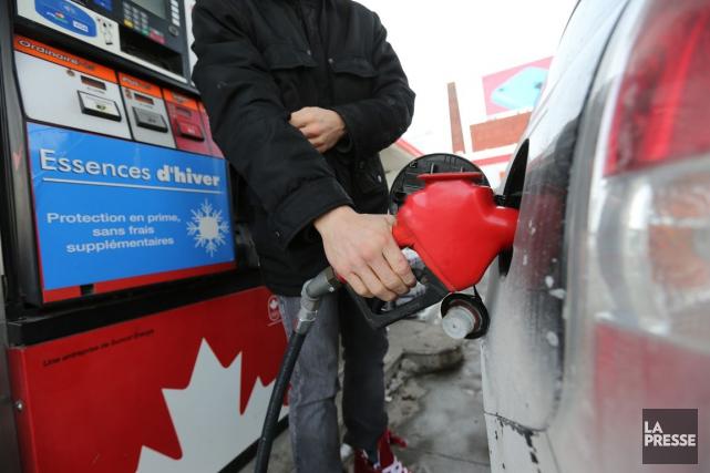 Les automobilistes québécois n'ont pas eu droit aux... (Martin Chamberland, archives La Presse)