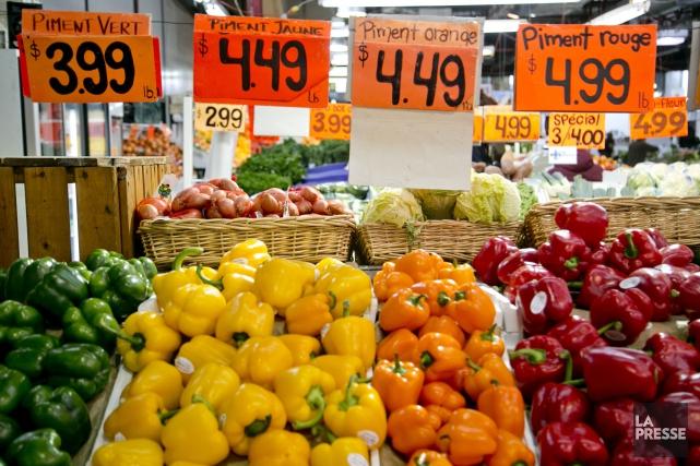 Selon le rapport de Statistique Canada, les prix... (David Boily, La Presse)