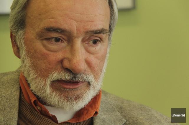Le maire de Frelighsburg, Jacques Ducharme, quittera son... (Janick Marois, archives La Voix de l'Est)