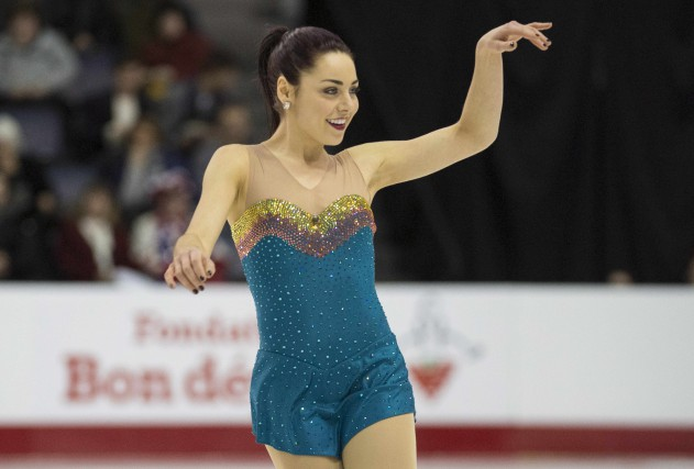 Roxanne Rheault occupe le 6e rang après le... (La Presse Canadienne)