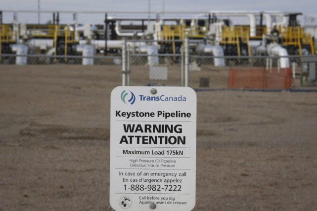 ÉDITORIAL / Le débat sur le pipeline Énergie Est recèle en lui... (Jeff McIntosh, Archives PC)