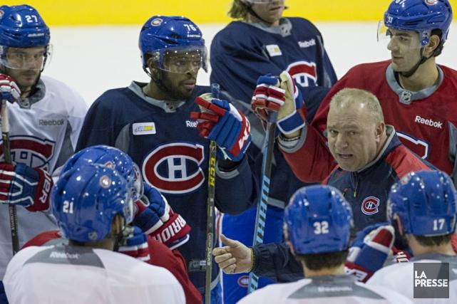 Michel Therrien et le Canadien tenteront de freiner... (La Presse)