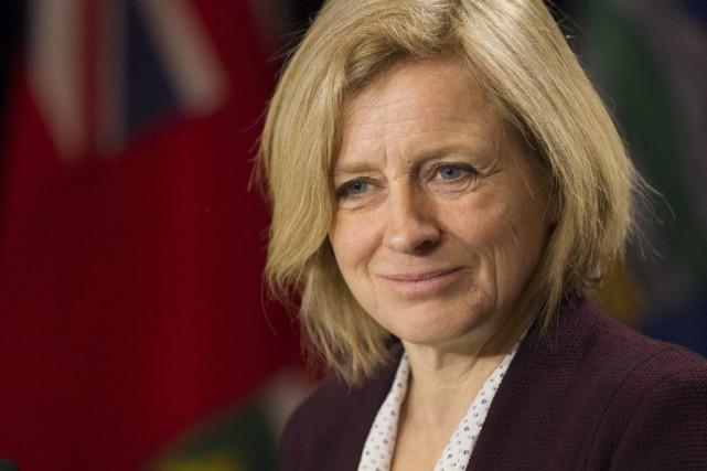 La première ministre albertaine Rachel Notley a soutenu... (Photo Chris Young, La Presse Canadienne)