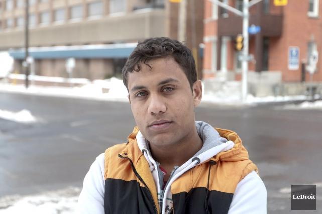 Aîné d'une fratrie de huit enfants, Mohammed Zaineh... (Martin Roy, LeDroit)