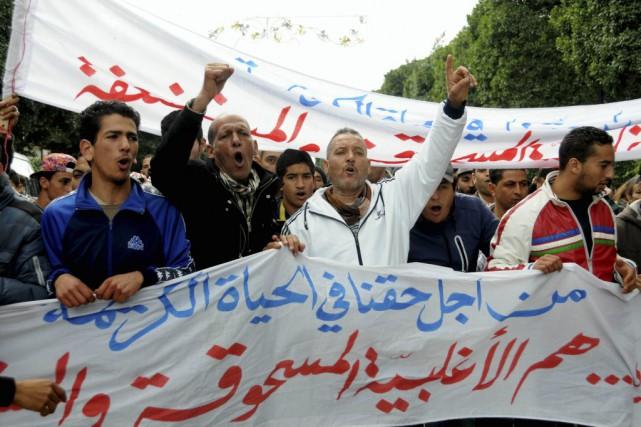 Cinq ans après le renversement du dictateur Zine... (Photo Riadh Dridi, AP)