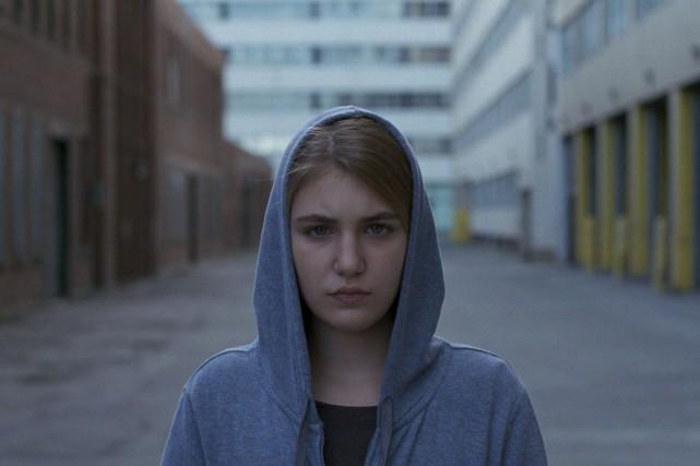 Simone (Sophie Nélisse), dans Endorphine... (Courtoisie)