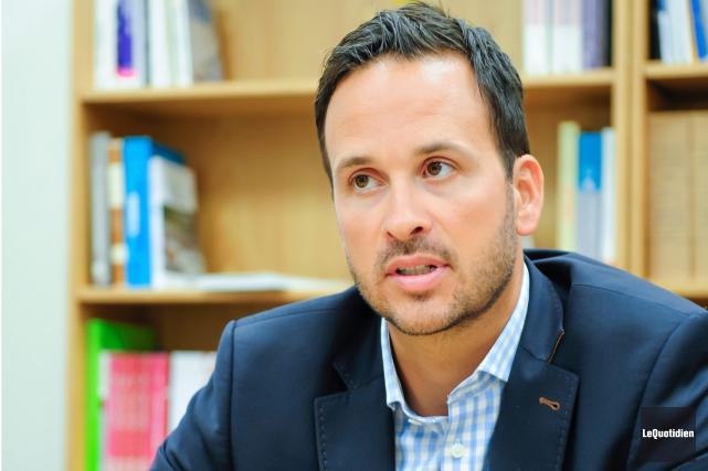 Le député de Lac-Saint-Jean, Alexandre Cloutier... (Archives Le Quotidien)