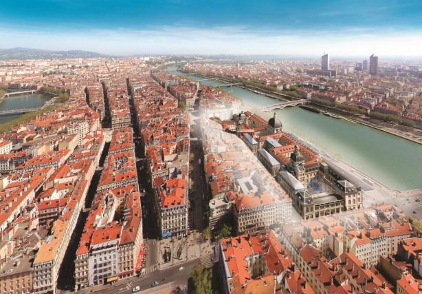 L'Hôtel-Dieu de Lyon est un bâtiment inscrit au... (IMAGE FOURNIE PAR LE GRAND HÔTEL-DIEU DE LYON)