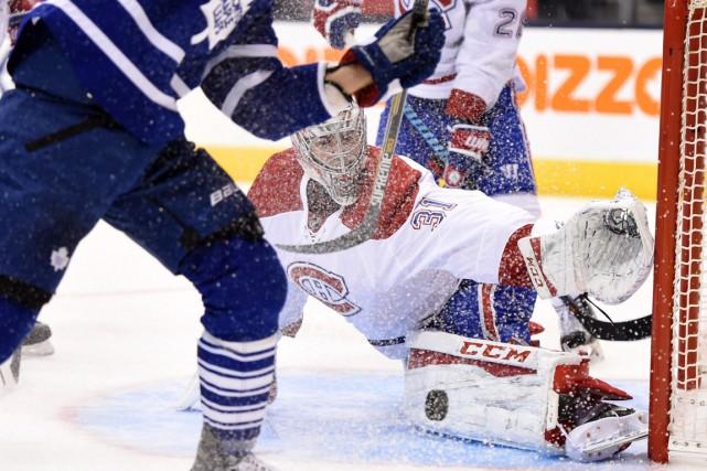 En deux matchs cette saison contre Toronto, CareyPricea... (PHOTO FRANK GUNN, ARCHIVES PC)