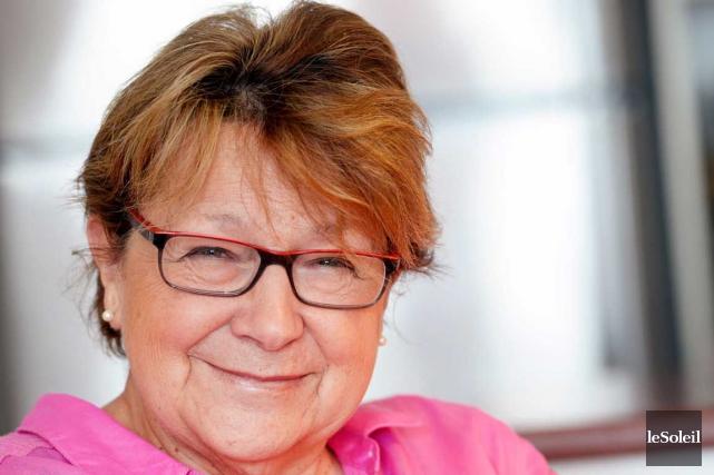 Élaine Hémond, du Groupe Femmes, politique et démocratie... (Le Soleil, Jean-Marie Villeneuve)