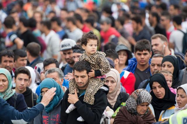 Le gouvernement autrichien a annoncé mercredi sa volonté... (PHOTO ARCHIVES AFP)