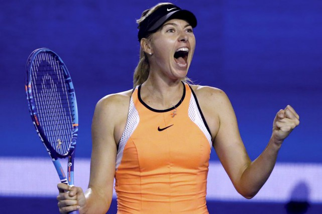 Maria Sharapova... (Photo Aaron Favila, AP)