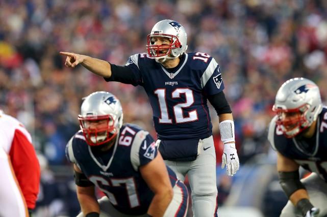 Les Patriots de la Nouvelle-Angleterre frapperont à la... (AFP, Elsa)