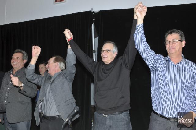 Le président du Syndicat démocratique des employés de... (Photo Le Progrès-Dimanche, Rocket Lavoie)