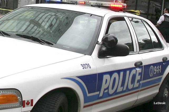 Un incident survenu dans la Basse-Ville d'Ottawa a connu un triste dénouement... (PATRICK WOODBURY, Archives LeDroit)