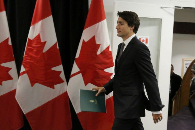 Justin Trudeau... (PHOTO RUBEN SPRICH, REUTERS)