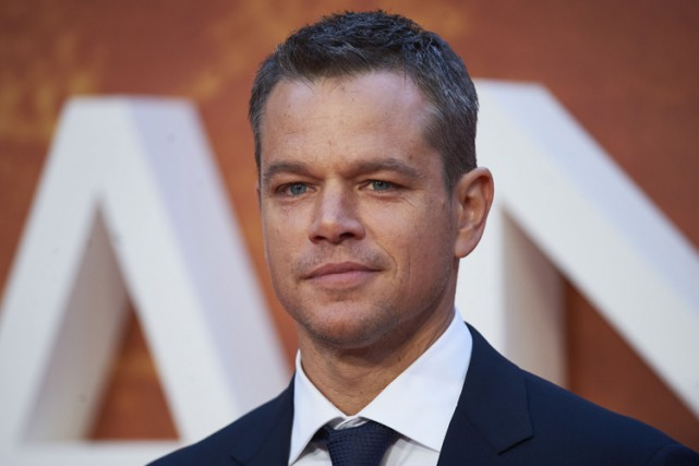 Matt Damon... (Archives AFP)