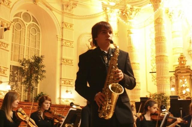 Le saxophoniste Ludovik Lesage-Hinse, lauréat 2015 du Concoursde...