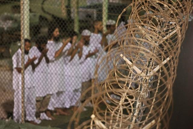 Un ex-détenu syrien de Guantanamo, réfugié en Uruguay fin 2014, a été accusé... (ARCHIVES AP)