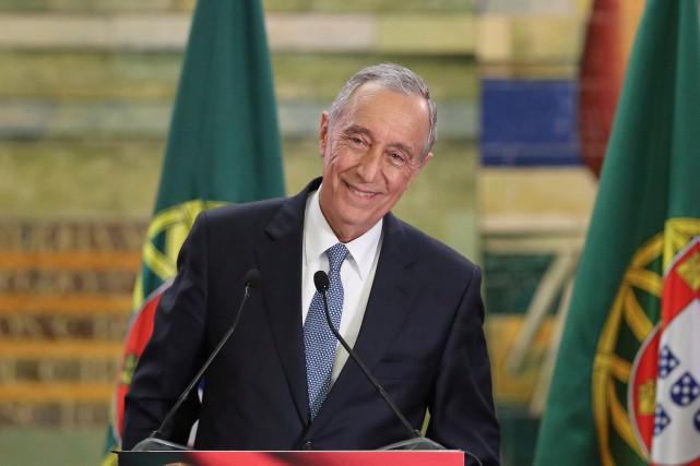 Professeur de droit et commentateur politique vedette,Marcelo Rebelo... (AP, Armando Franca)