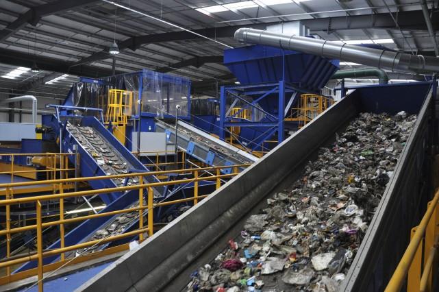 Machinex vient d'inaugurer deux centres de tri aménagés... (Courtoisie)