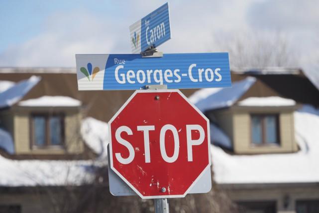 Contrairement à bien des villes québécoises, les panneaux... (Photo Alain Dion)