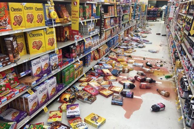 La secousse est survenue vers 1h30 dans la... (AP, Vincent Nusunginya)