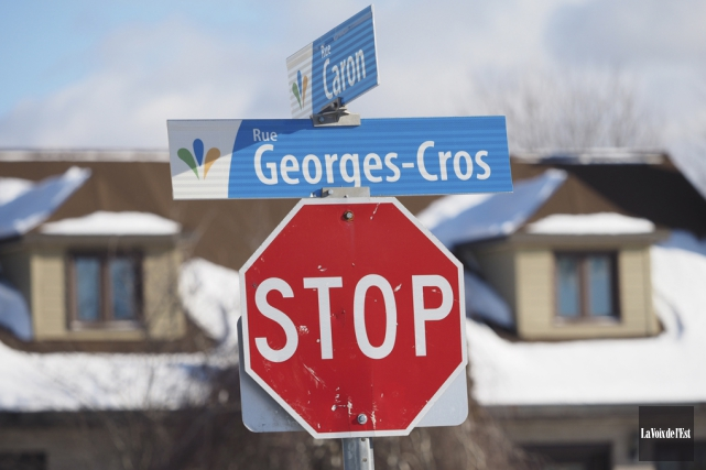 Contrairement à bien des villes québécoises, les panneaux... (Alain Dion, La Voix de l'Est)