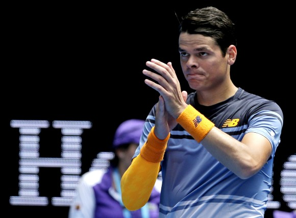 Milos Raonic... (The Associated Press)