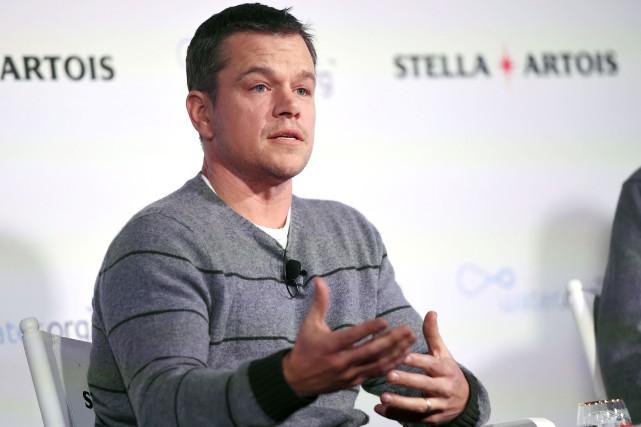 Matt Damon est au festival de Sundance... (AP, Chris Pizzello)