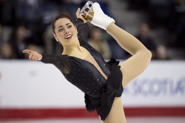 Roxanne Rheault a terminé au septième rang lors... (La Presse Canadienne)