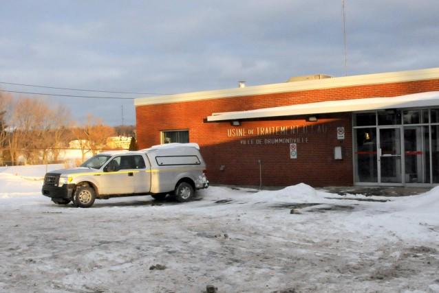 La Ville de Drummondville devra remplacer son usine... (Collaboration spéciale, Éric Beaupré)