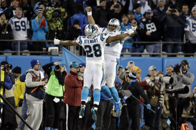 «Superman» se dirige vers le Super Bowl. Et il amène les Panthers de la... (PHOTO AP)