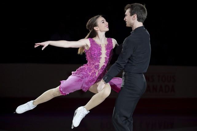 Élisabeth Paradis et François-Xavier Ouellette sont revenus de... (La Presse Canadienne, Darren Calabrese)