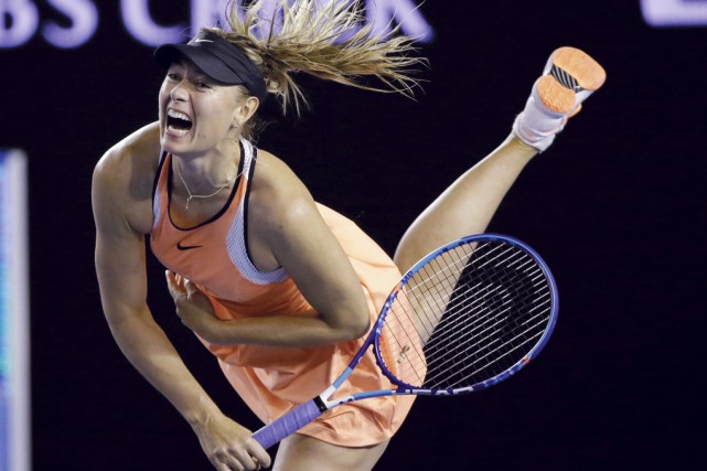 Maria Sharapova... (Photo Aaron Favila, archives Associated Press)