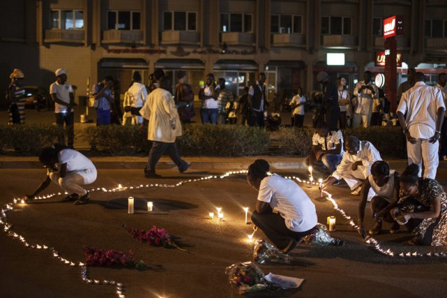 Les victimes des attentats au Burkina Faso ont... (Associated Press)