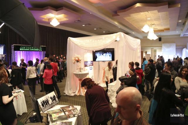 Le salon prenait place au Centre des congrès... (Julie Catudal, La Voix de l'Est)