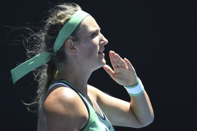 Victoria Azarenka... (PHOTO AFP)