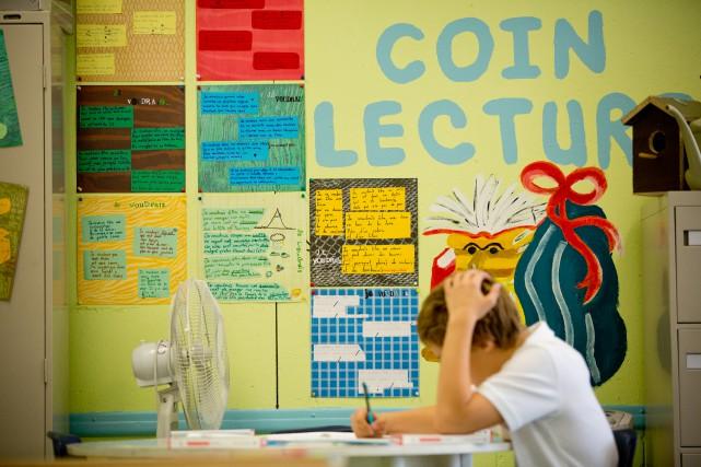 La maternelle pour tous à 4 ans et... (PHOTO DAVID BOILY, ARCHIVES LA PRESSE)