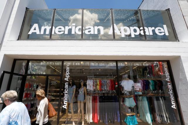 Le fabricant de vêtements Gildan ambitionne d'ajouter American Apparel à son... (PHOTO ARCHIVES AP)