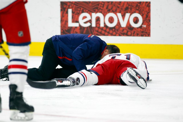 Le capitaine Nick Foligno a été le dernier... (Photo James Guillory, USA TODAY Sports)