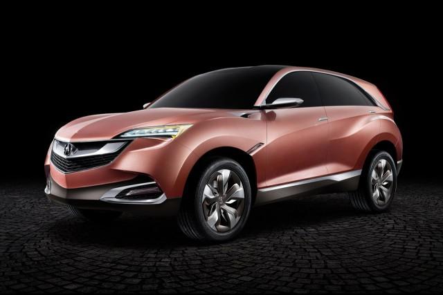 Acuraavait présenté en 2013 le prototype SUV-X, qui... (photo fournie par le constructeur)